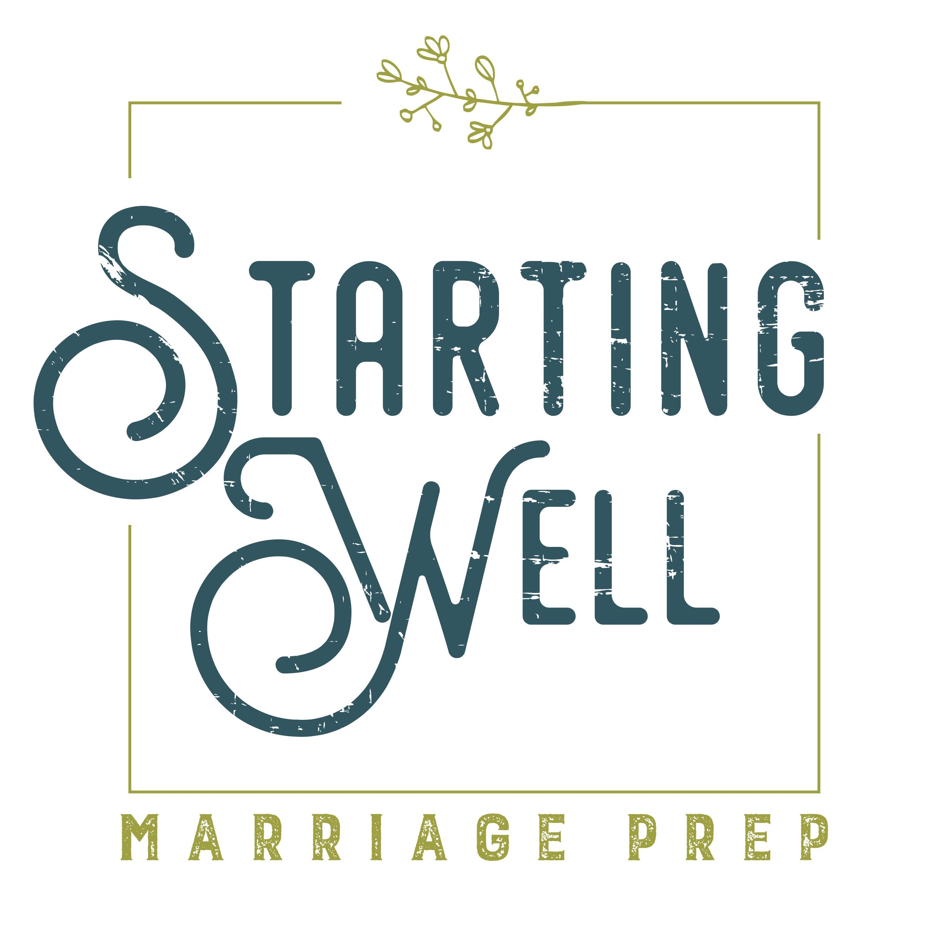 Starting Well Marriage Prep | Pre-Marital Counseling